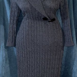 Cable Sweater Dress (M)